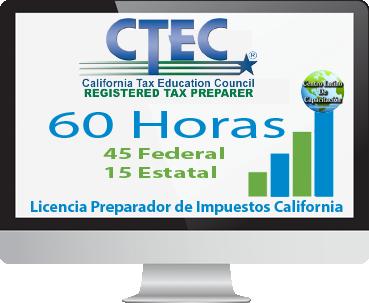 California 60 horas CTEC