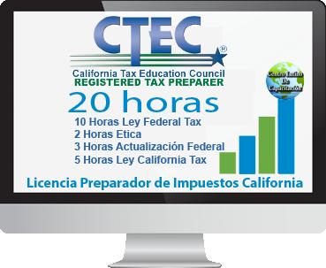 California 20 horas CTEC